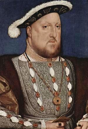 Hans, the Younger Holbein - Portrait of Henry VIII 1536