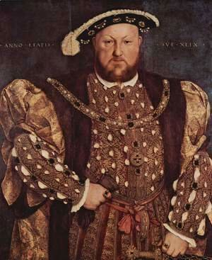 Hans, the Younger Holbein - Portrait of Henry VIII 1540
