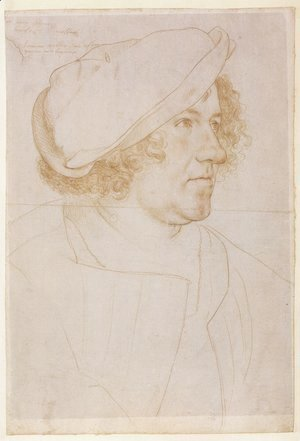 Hans, the Younger Holbein - Portrait of Jakob Meyer zum Hasen 1516