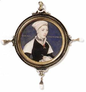 Portrait of Jane Pemberton c. 1540