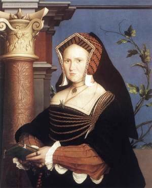 Hans, the Younger Holbein - Portrait of Lady Mary Guildford 1527