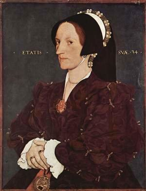Hans, the Younger Holbein - Portrait of Margaret Wyatt, Lady Lee, c. 1540