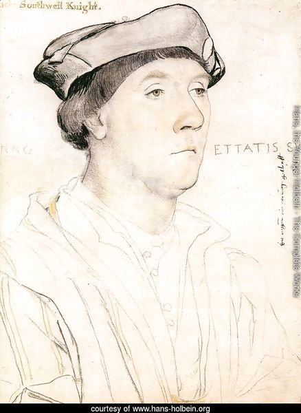 Portrait of Sir Richard Southwell c. 1537
