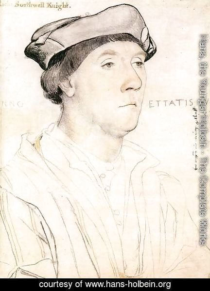 Hans, the Younger Holbein - Portrait of Sir Richard Southwell c. 1537