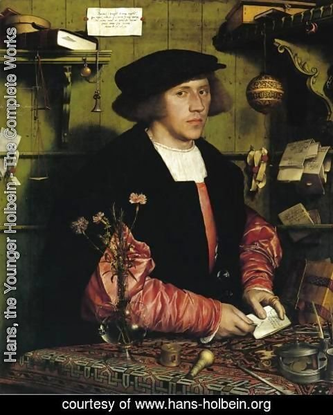 Hans, the Younger Holbein - Portrait of the Merchant Georg Gisze 1532