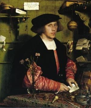 Portrait of the Merchant Georg Gisze 1532