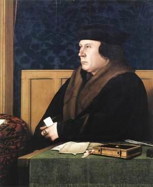 Hans, the Younger Holbein - Portrait of Thomas Cromwell c. 1533