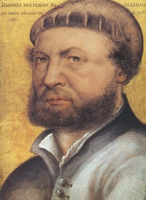 Hans, the Younger Holbein - Self-Portrait  1542-43