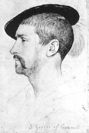 Hans, the Younger Holbein - Simon George of Quocote 1536