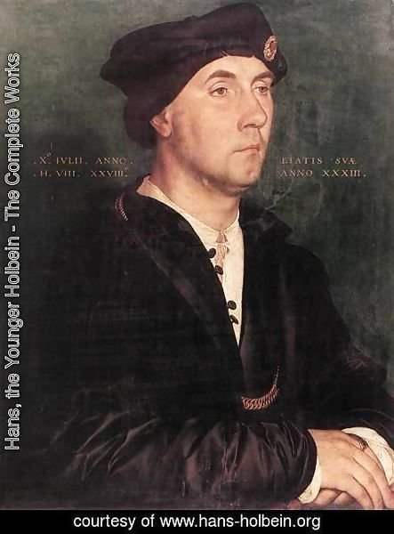 Hans, the Younger Holbein - Sir Richard Southwell  1536