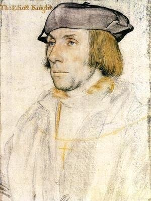 Hans, the Younger Holbein - Sir Thomas Elyot  1532-33