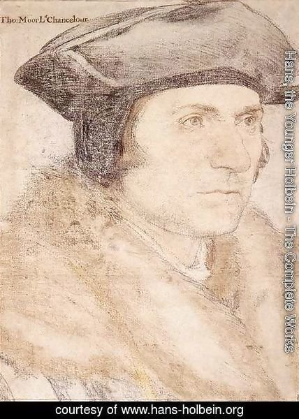 Hans, the Younger Holbein - Sir Thomas More 1527-28