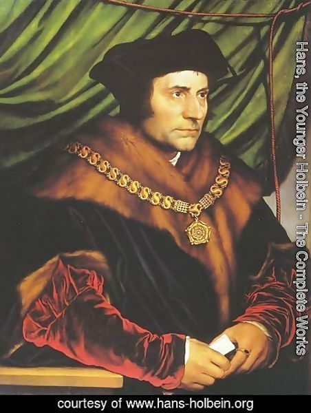 Hans, the Younger Holbein - Sir Thomas More 1527