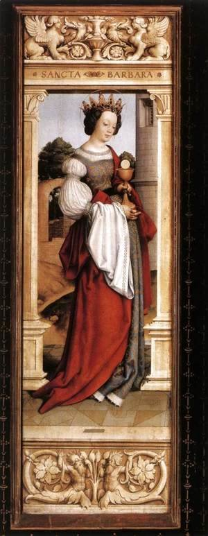 Hans, the Younger Holbein - St Barbara 1516