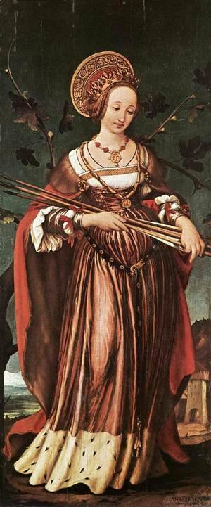 Hans, the Younger Holbein - St Ursula c. 1523