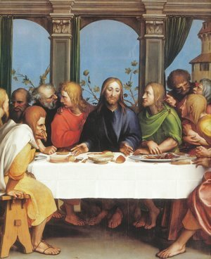 Hans, the Younger Holbein - The Last Supper 1524-25