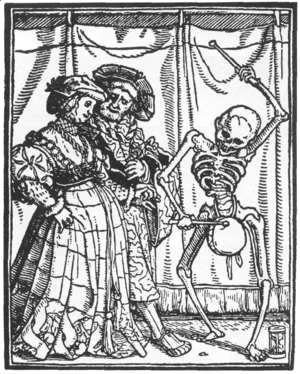 The Noble Lady from Dance of Death 1524-26