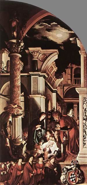 Hans, the Younger Holbein - The Oberried Altarpiece (right wing) 1521-22