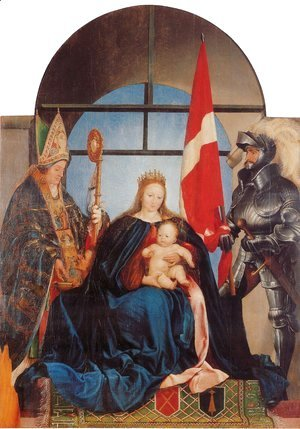 Hans, the Younger Holbein - The Solothurn Madonna 1522